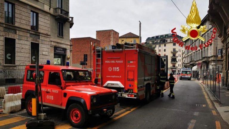 incendio appartamento milano