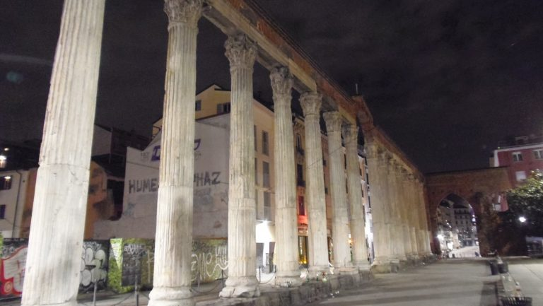 colonne san lorenzo sparatoria