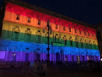 Pride, Palazzo Marino arcobaleno