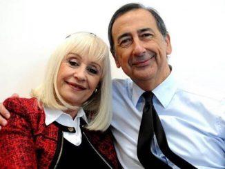 Raffaella Carrà e Giuseppe Sala