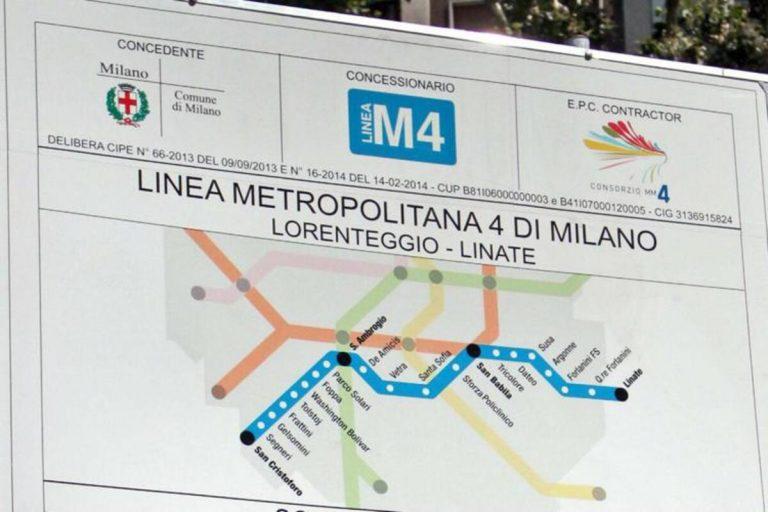 Linea Blu M4 Milano