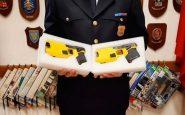 Taser polizia Milano