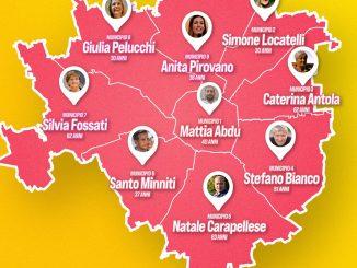 candidati presidente del Centrosinistra ai Municipi Milano