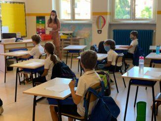 Distanziamento banchi scolastici