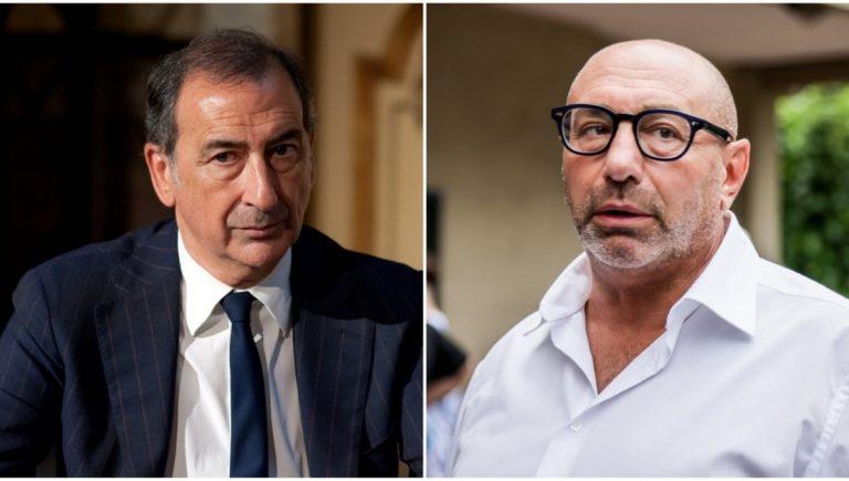 Beppe Sala e Luca Bernardo