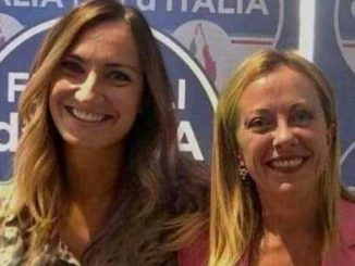 Chiara Valcepina e Giorgia Meloni