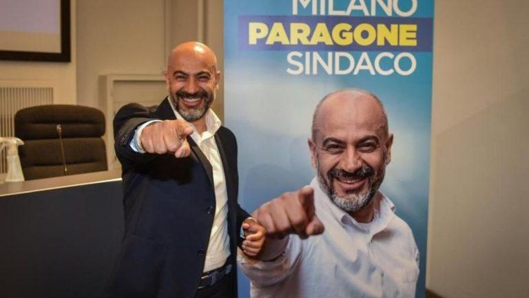 Paragone, candidato sindaco Milano