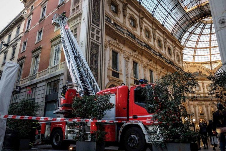calcinacci Galleria Vittorio Emanuele II, Milano