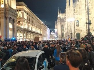 manifestazioni no Green Pass Milano