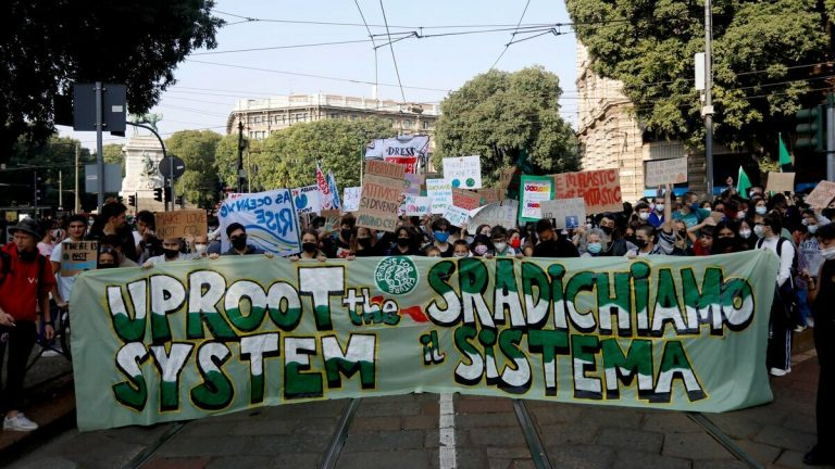 Fridays for Future, manifestazione Milano